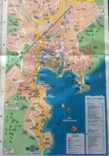 Plan de Collioure